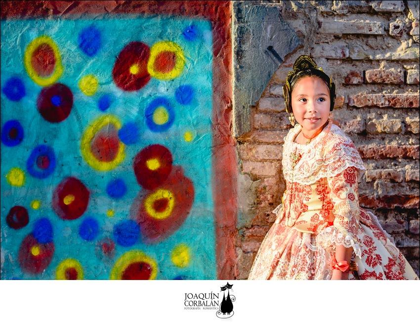 Reportaje Fallera Infantil Fotografo Valencia (1)